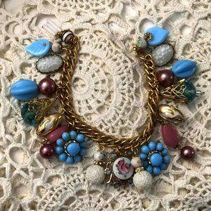 Jammin Jewels Recycled Vintage Charm Bracelet